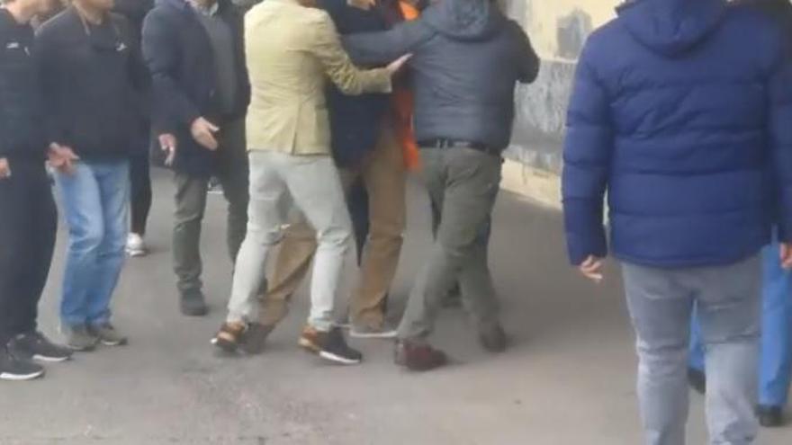 Altercado tras un partido entre infantiles: varios padres insultan a una árbitro y agreden a otros progenitores en Gijón