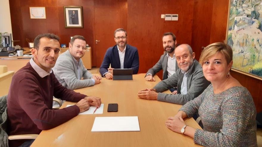 Palma y Marratxí comienzan a trabajar para impulsar un área metropolitana