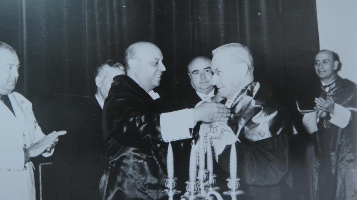1959, los dos rectores de mayor trayectoria