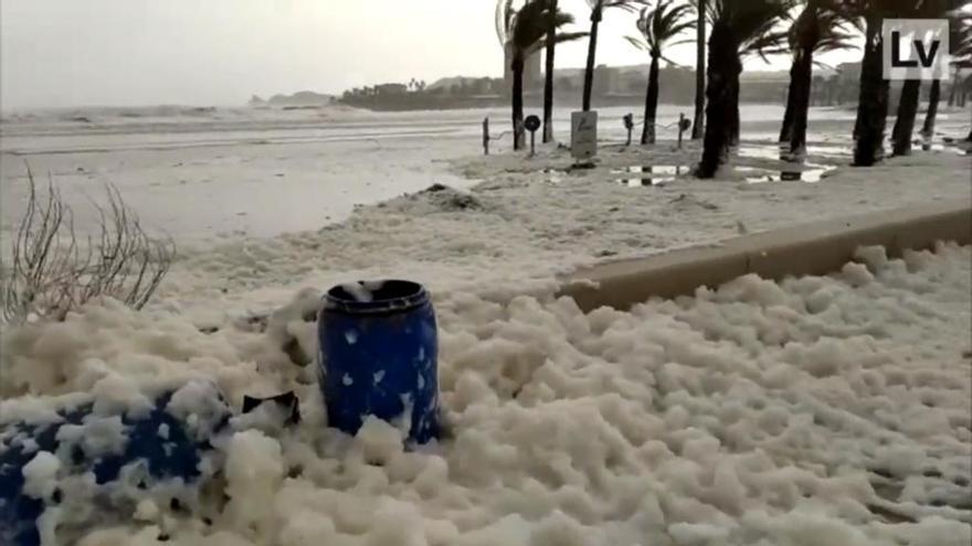 ¿A qué se debe la espuma de mar que ha provocado la borrasca Gloria?