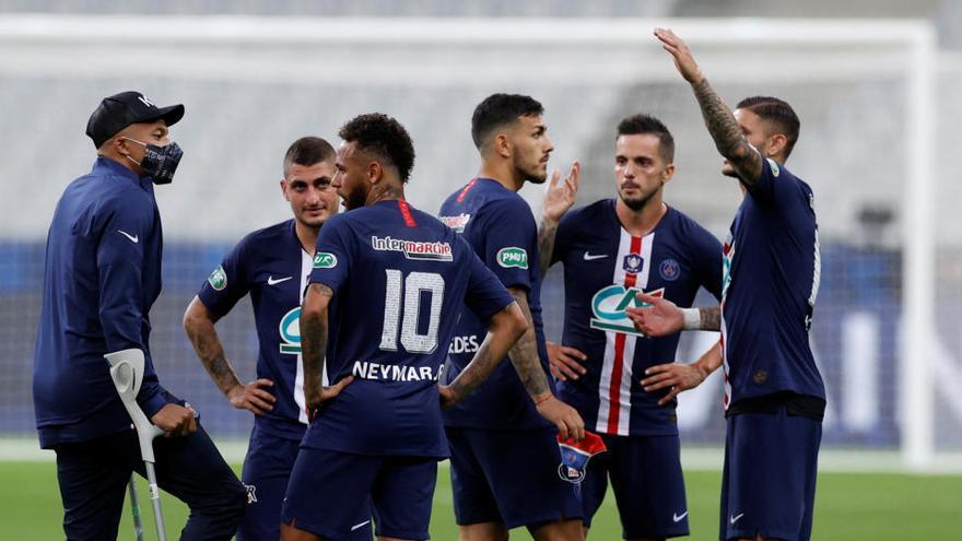 El PSG gana por la mínima la Copa de Francia