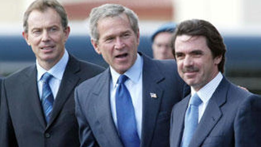 España, del apoyo de Aznar a la retirada de tropas de Zapatero