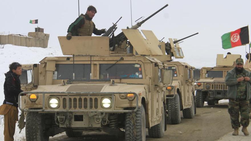 Los talibanes se atribuyen el derribo de un avión de inteligencia de EEUU en Afganistán