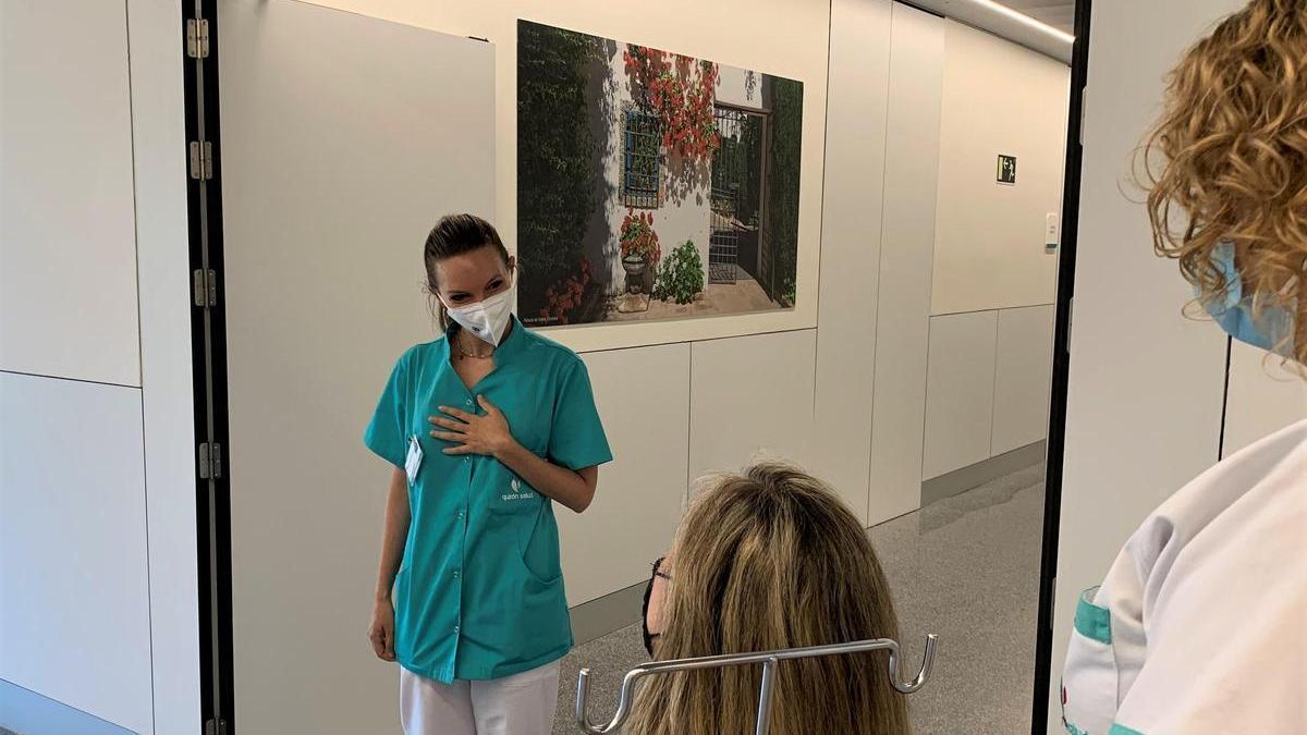 Servicio de Urgencias en el hospital Quirónsalud Córdoba.