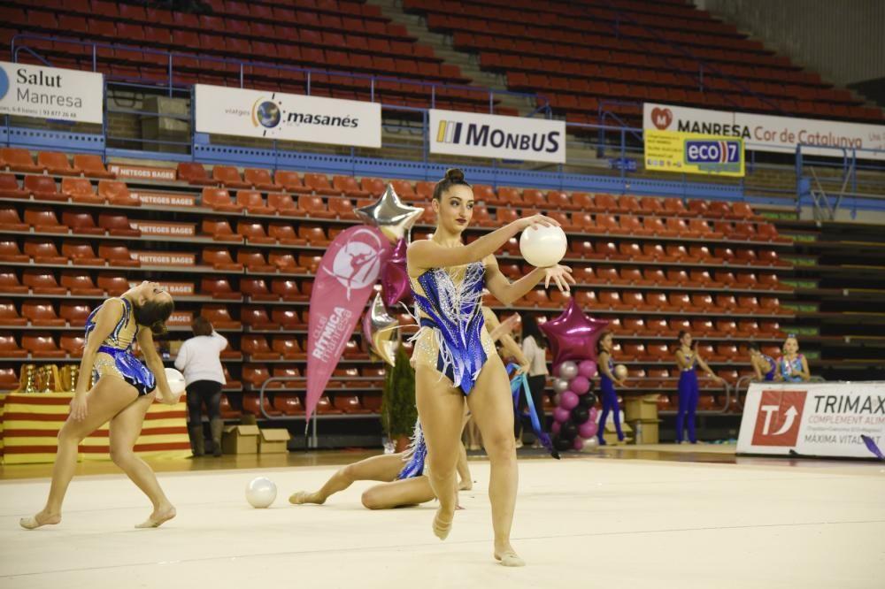 La gimnàstica omple de ritme el Nou Congost