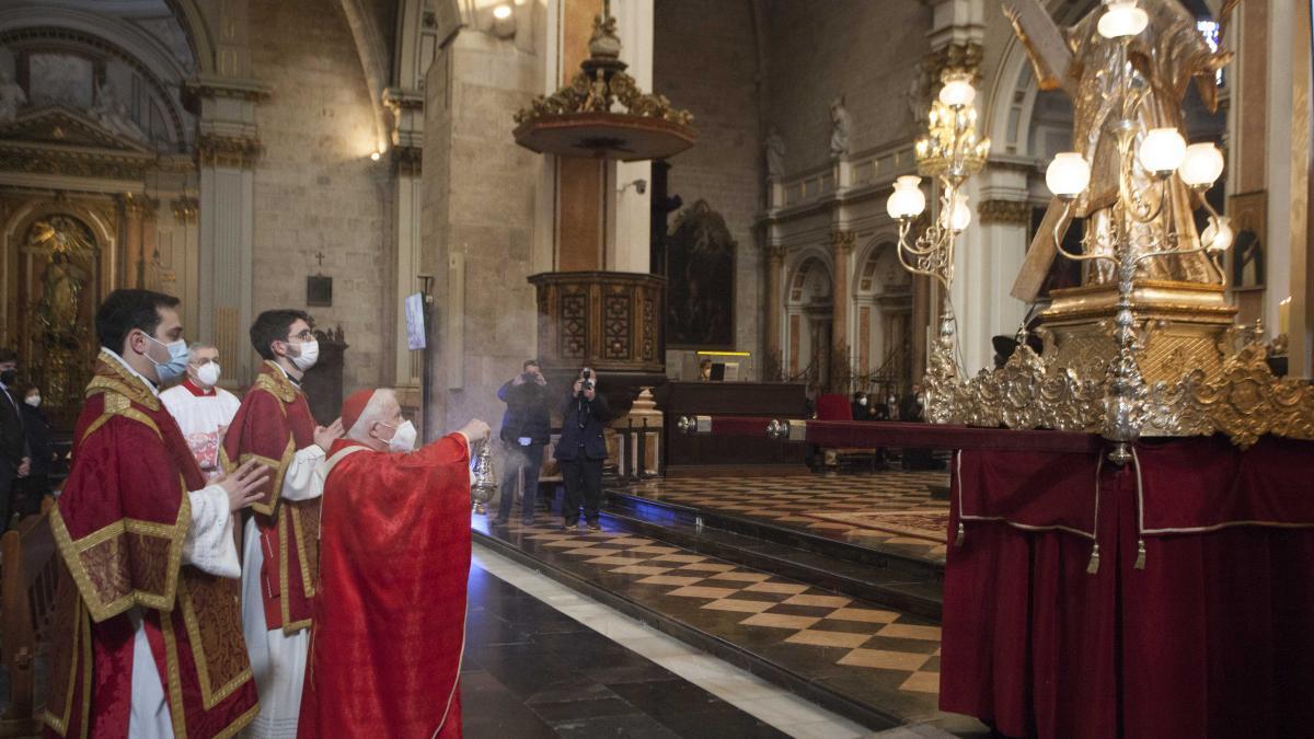 San Vicente Mártir se queda en el interior de la Catedral