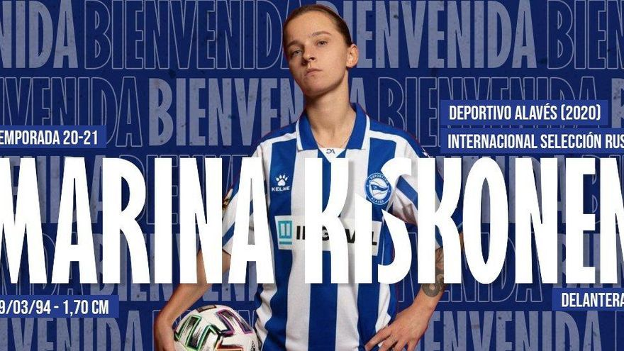 El Alhama ElPozo firma a la rusa Marina Kiskonen
