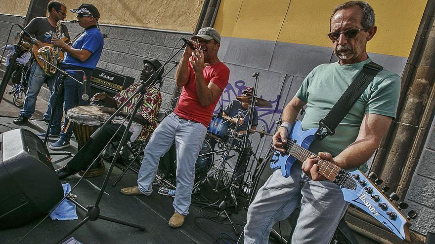 Levantada de forma parcial la suspensión de los conciertos en las calles de La Laguna