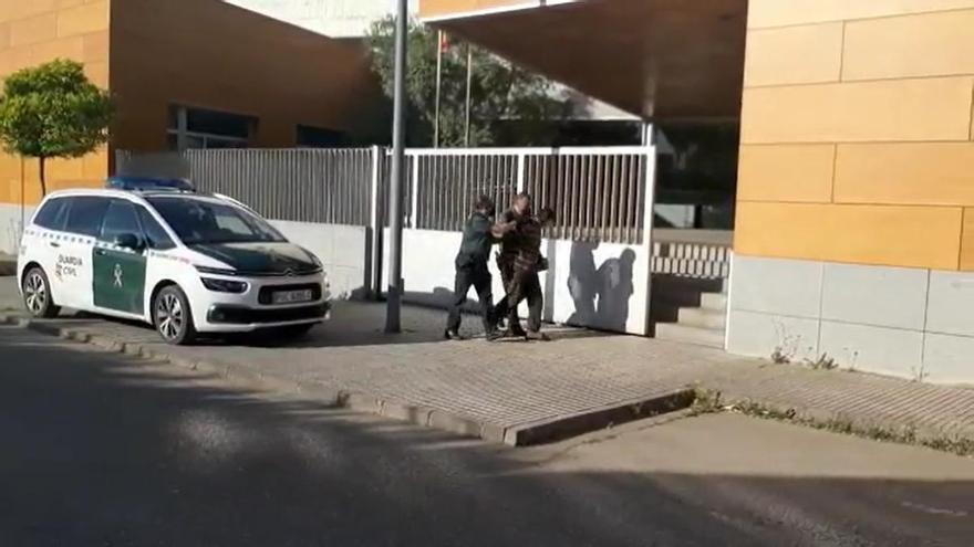 Prisión provisional comunicada y sin fianza para el sospechoso del fraticidio de Los Santos