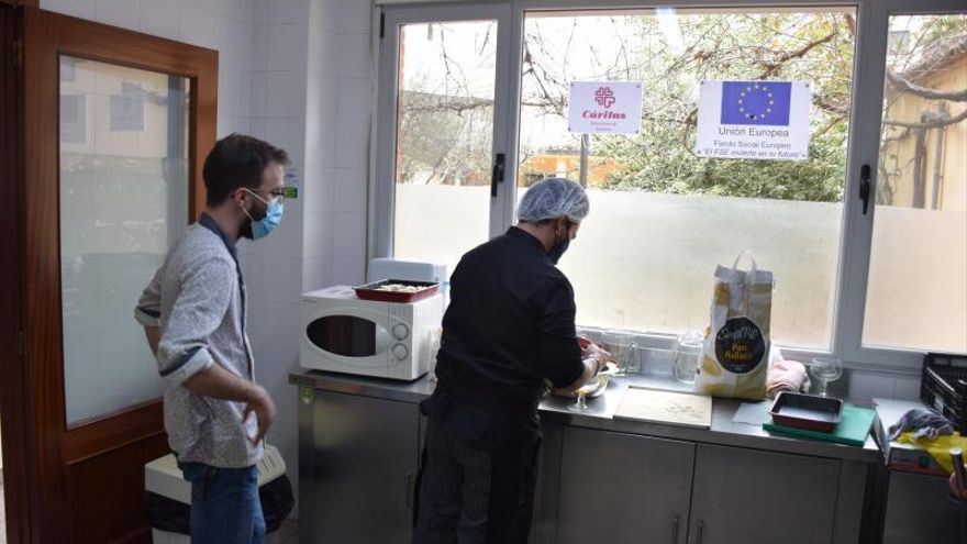 Clausura del curso de cocina de Cáritas Zamora