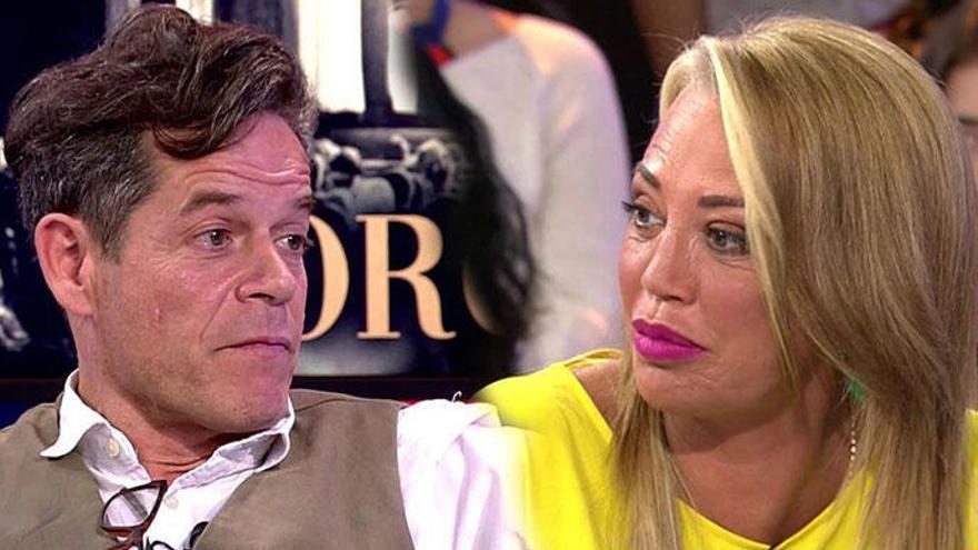 Jorge Sanz desvela su romance con Belén Esteban