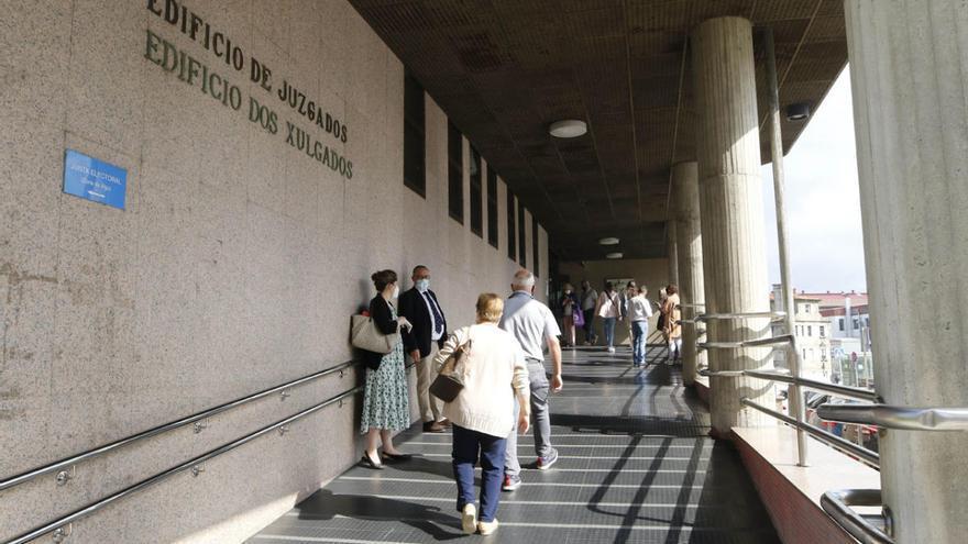 Alerta en los juzgados de Vigo tras el positivo de una magistrada