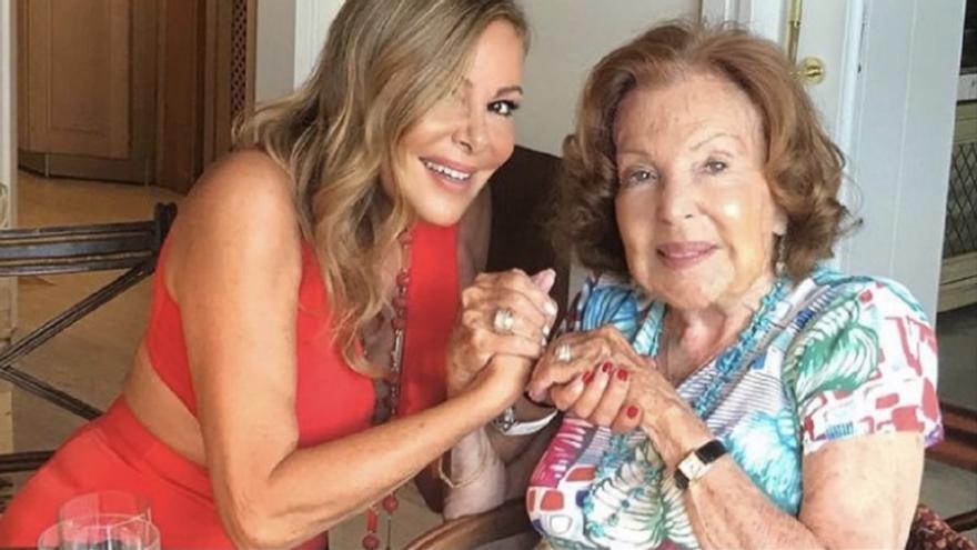 Muere Ana Obregón, madre de Ana García Obregón, a los 95 años