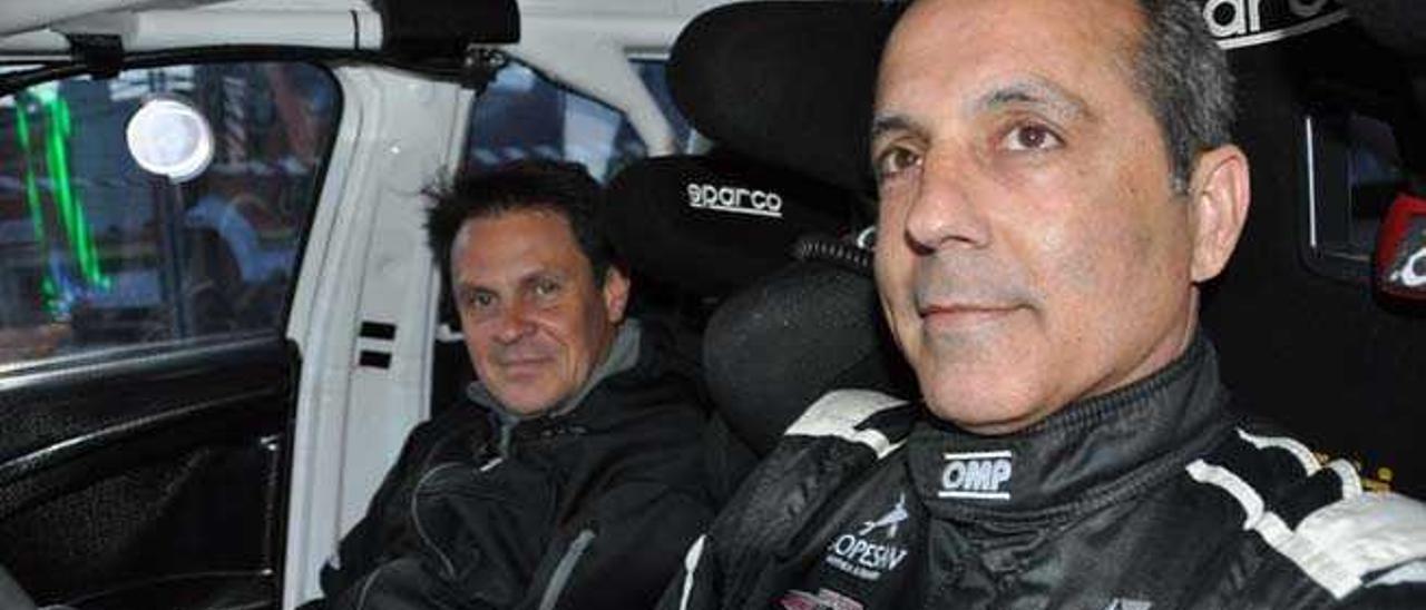 Monzón y Burgo estarán en el Rally Villa de Santa Brígida