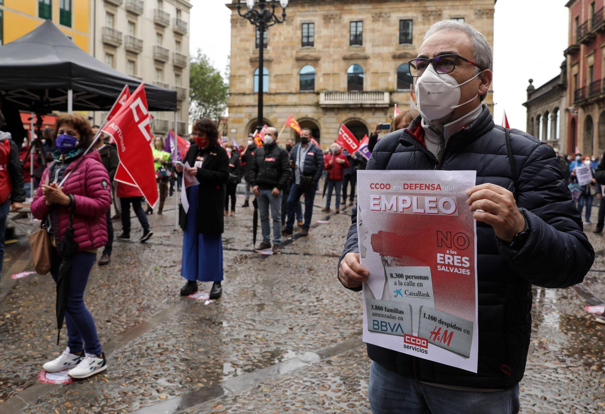 Manifestación del 1 de mayo en Gijón