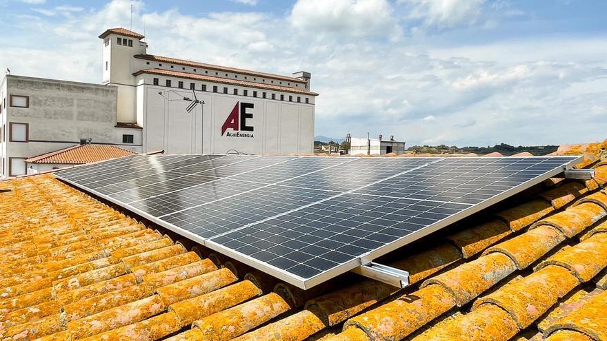 Agrienergia posa en marxa  un autoconsum fotovoltaic