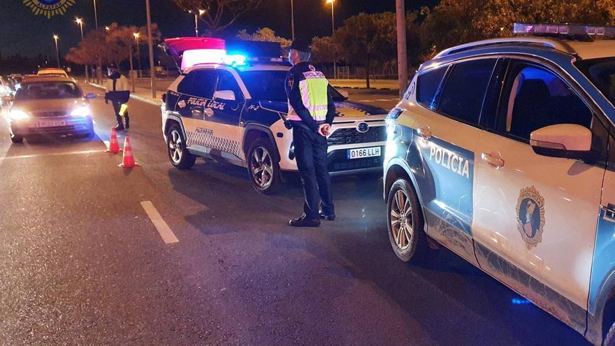 Más de 350 multas en un fin de semana en los cinco pueblos de l'Horta confinados