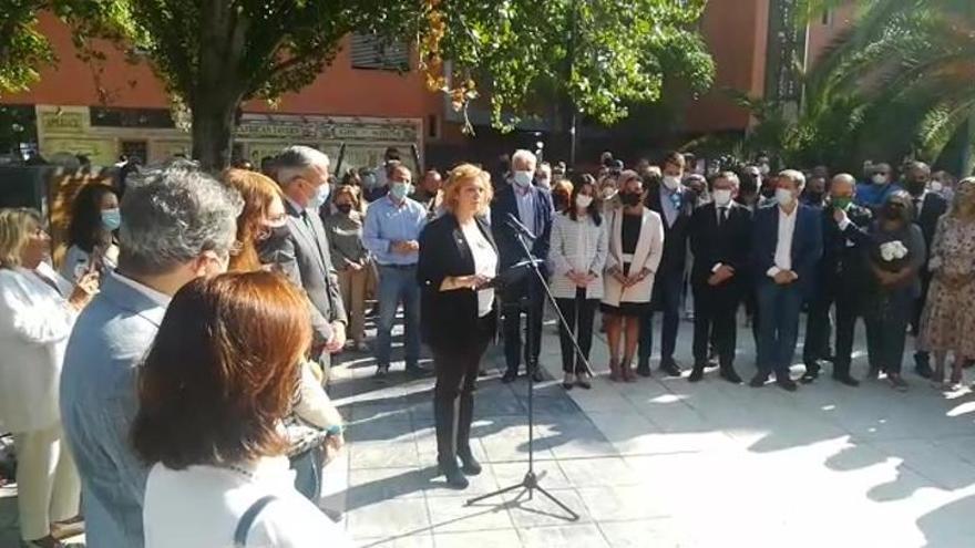 Lucía Ruiz, presidenta de la AVT en Aragón.