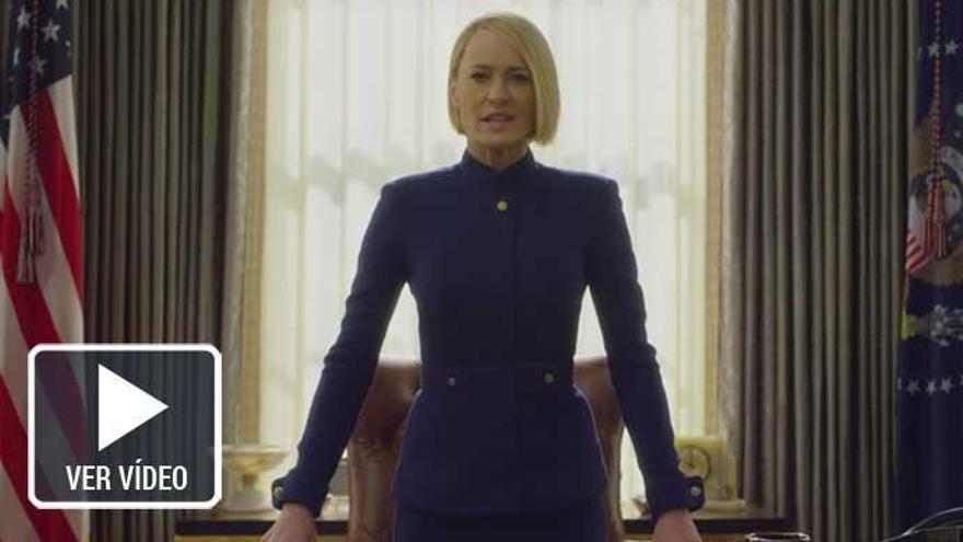 'House of Cards': Primer tráiler sin Kevin Spacey