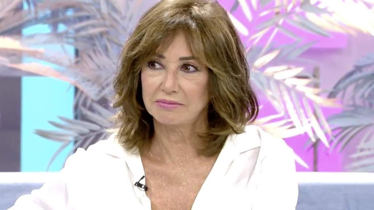 Ana Rosa se emociona en el programa