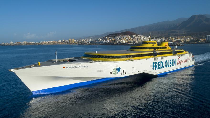 Fred.Olsen garantiza las conexiones entre La Palma y Tenerife
