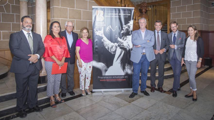Gran Canaria celebra el centenario de Leonard Bernstein