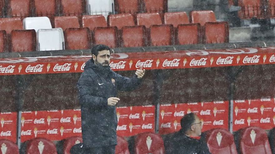 """David Gallego: """"Competimos e hicimos méritos y lo máximo para ganar"""""""