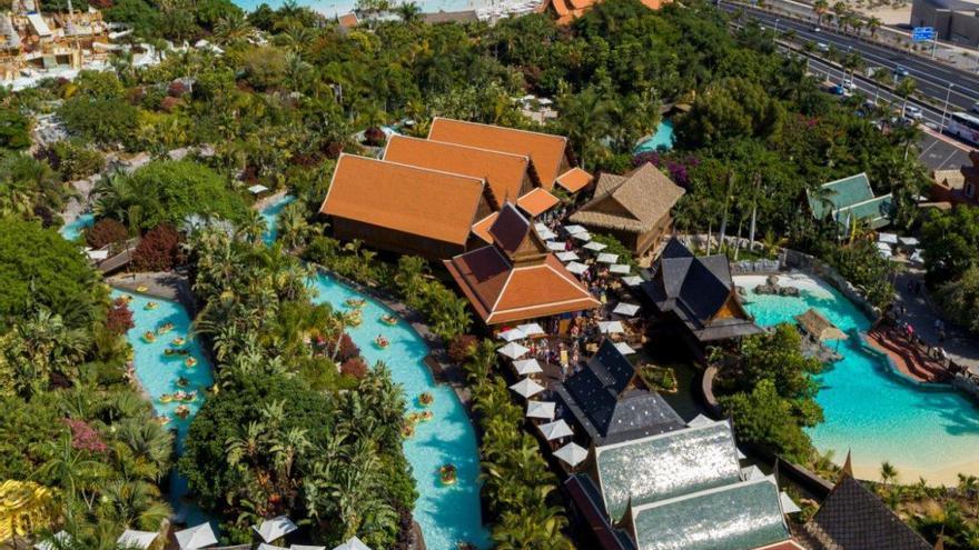 Siam Park pone  en marcha sus atracciones el sábado 29 tras  14 meses cerrado