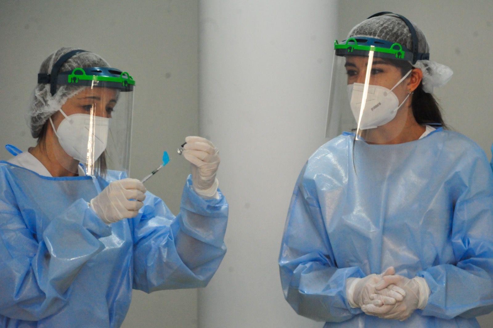La vacuna contra el COVID llega al área de Pontevedra-O Salnés