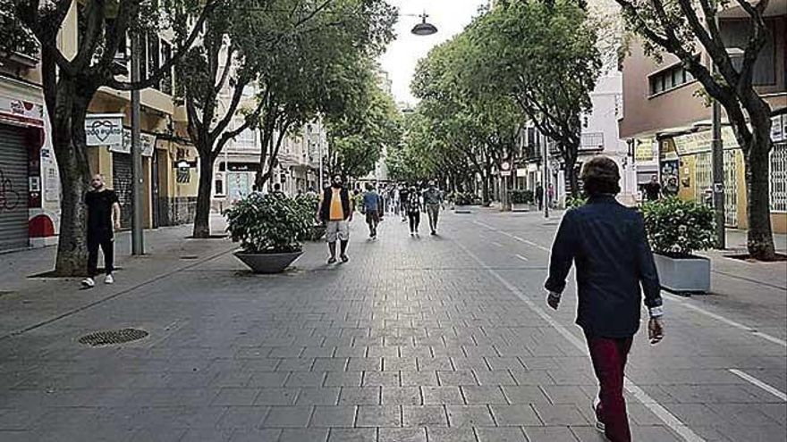 El Tripartito estudia la peatonalización  de más calles