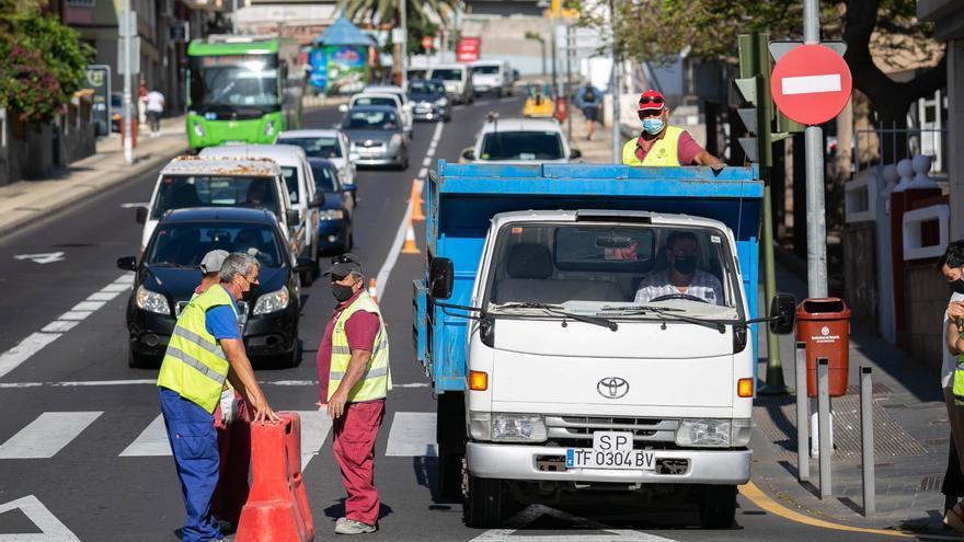 Retenciones en Galcerán por las obras de mejora del pavimento