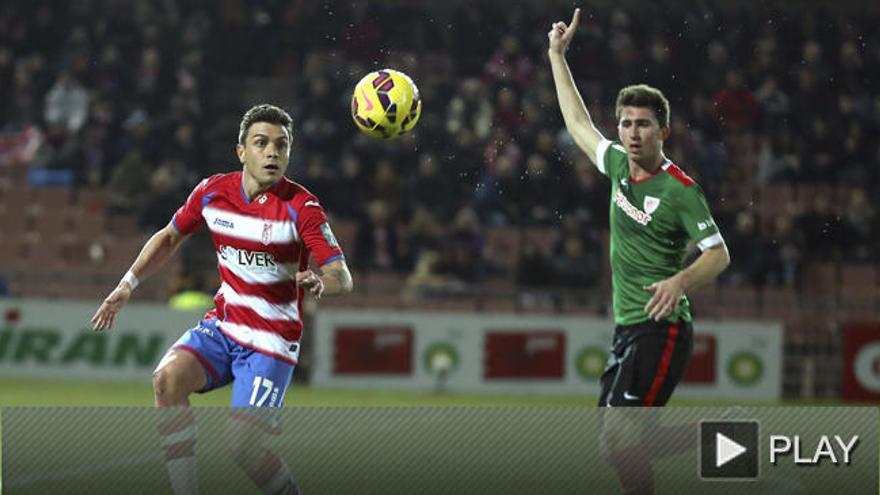 Granada y Athletic se reparten los puntos en un choque insulso