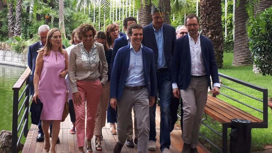 Casado diu a Barcelona que es donen les circumstàncies per aplicar de nou el 155