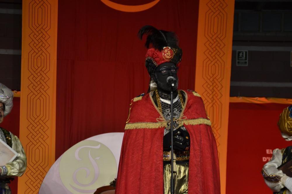La visita del patge Faruk a Igualada