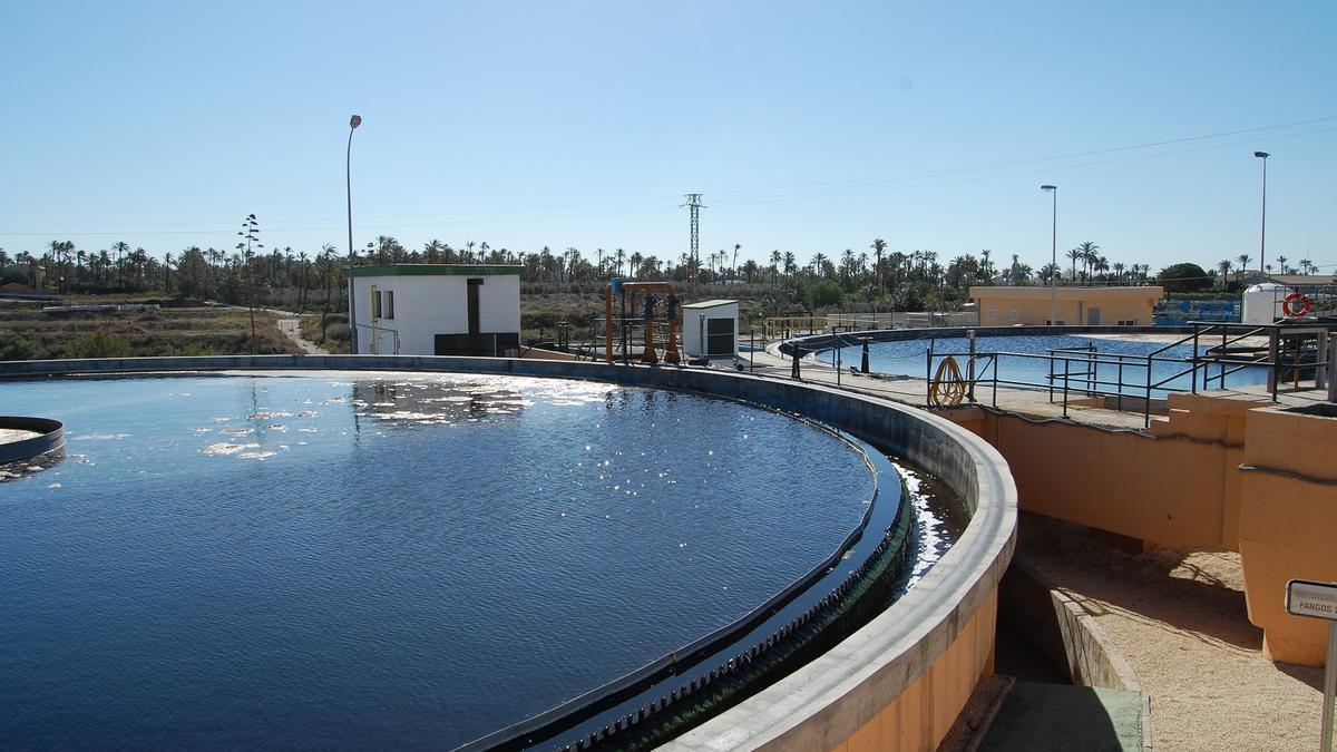 Depuradora del Grupo Suez para detección de la covid-19 en aguas residuales.