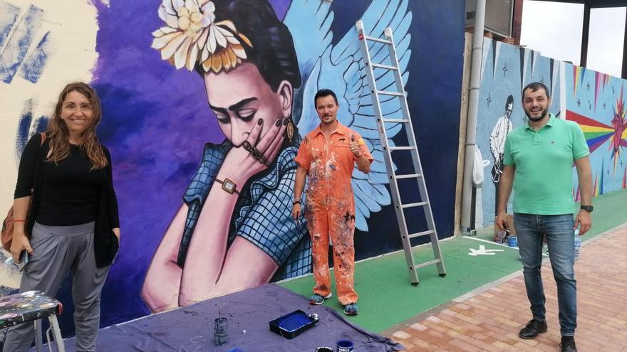 Un mural per a reivindicar Frida Kahlo a Ondara