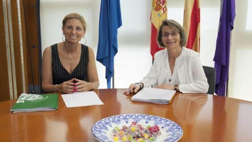 Marco y Alcón abogan por impulsar la imagen en el exterior de Castelló