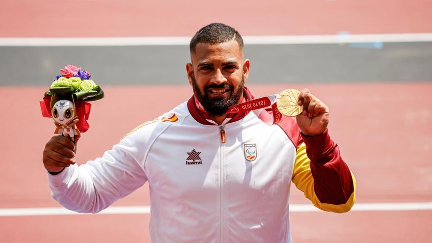 El valenciano Kim López gana el oro en lanzamiento de peso