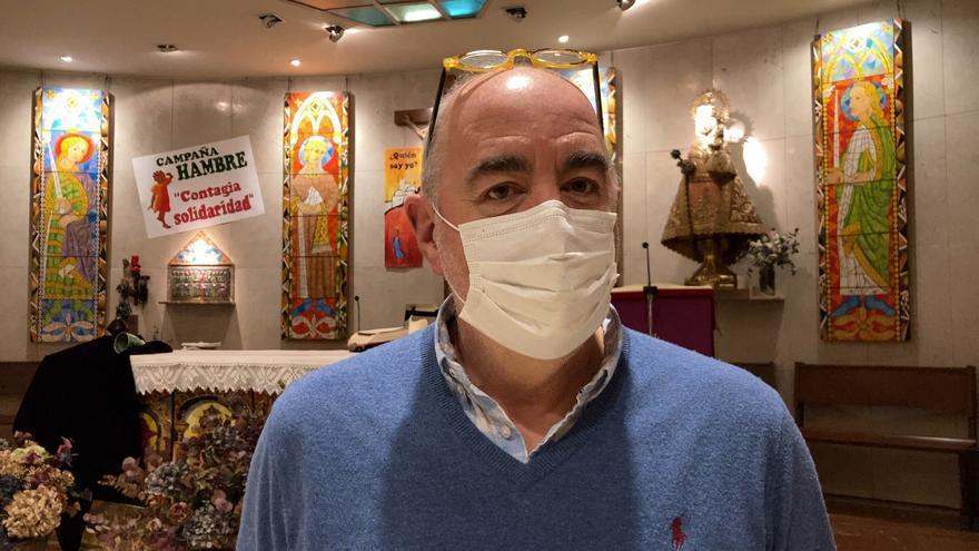 """José Ramón Castañón, """"Pochi"""", sacerdote: """"La pandemia nos ha quitado cosas que no vamos a recuperar"""""""
