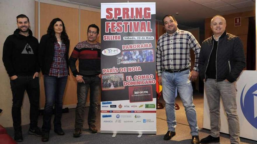 El III Spring Festival reunirá el 20 de mayo en Silleda a las orquestas París, Panorama y El Combo