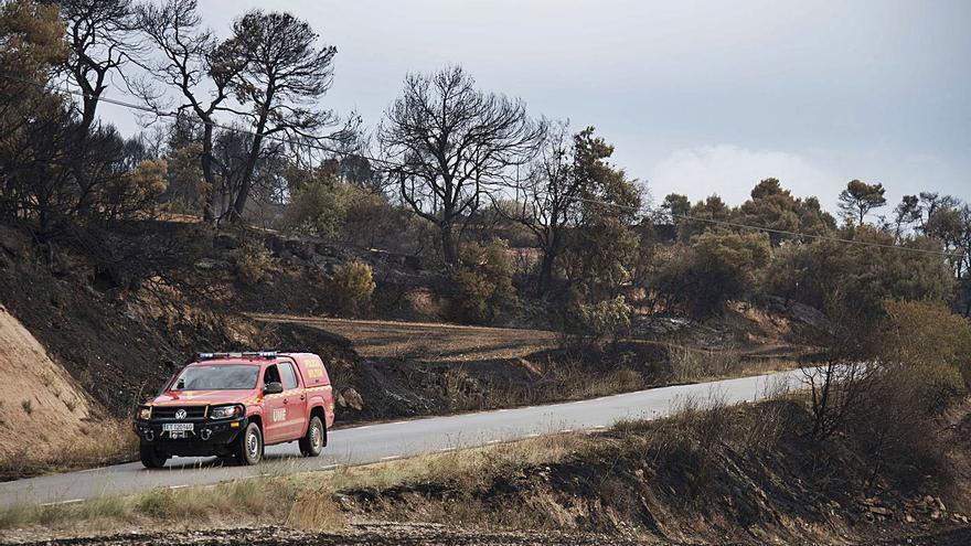 Es declara la zona castastròfica per als municipis de l'incendi de l'Anoia