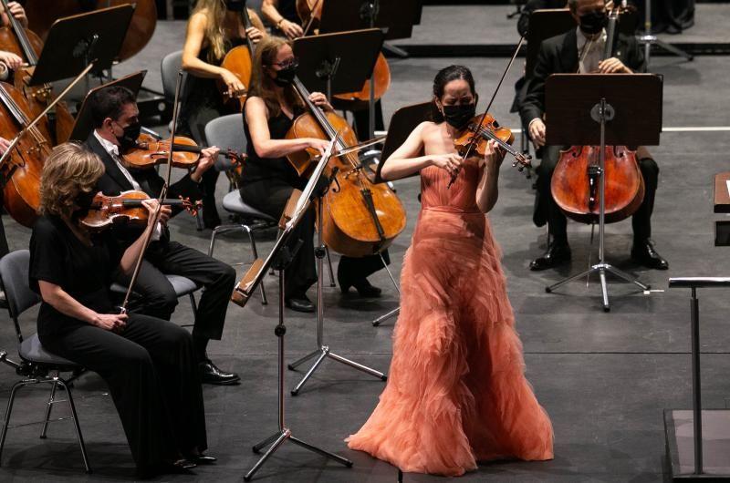 Concierto de la Sinfónica de Tenerife en el Auditorio Adán Martín