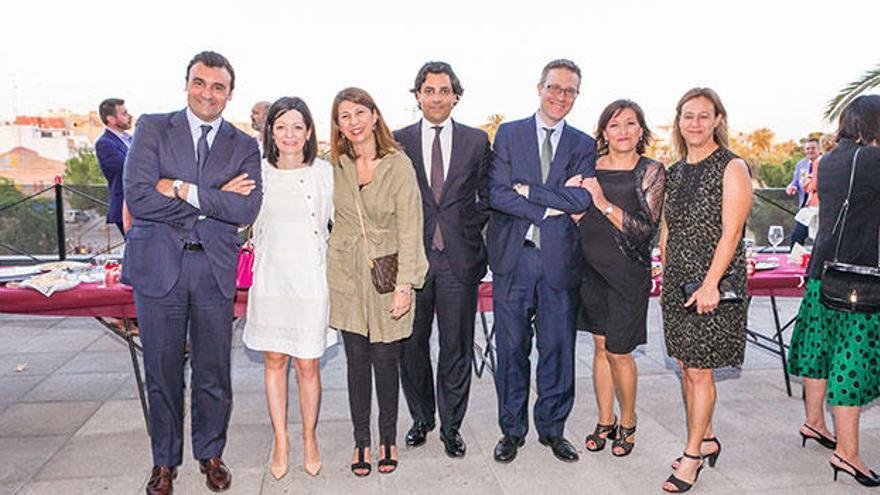 Empresarios y juristas comprometidos con la formación de los estudiantes del CEU