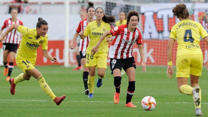 El Villarreal Femenino cae por la mínima pero planta cara a un gran Athletic (2-1)