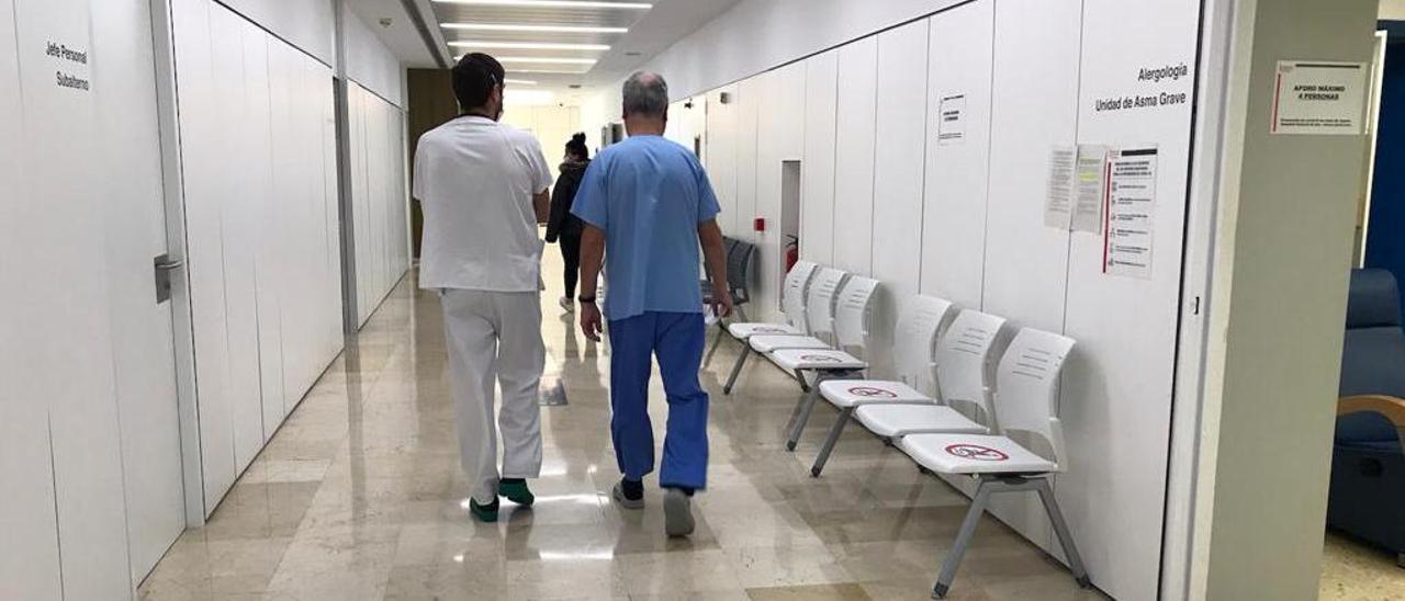 El Hospital General Universitario de Elda tiene este martes 20 de julio un solo ingreso por covid-19.