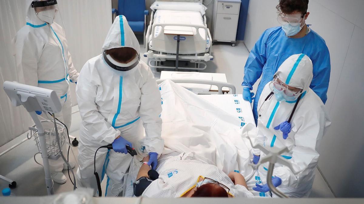 La presión hospitalaria sigue descendiendo en la provincia