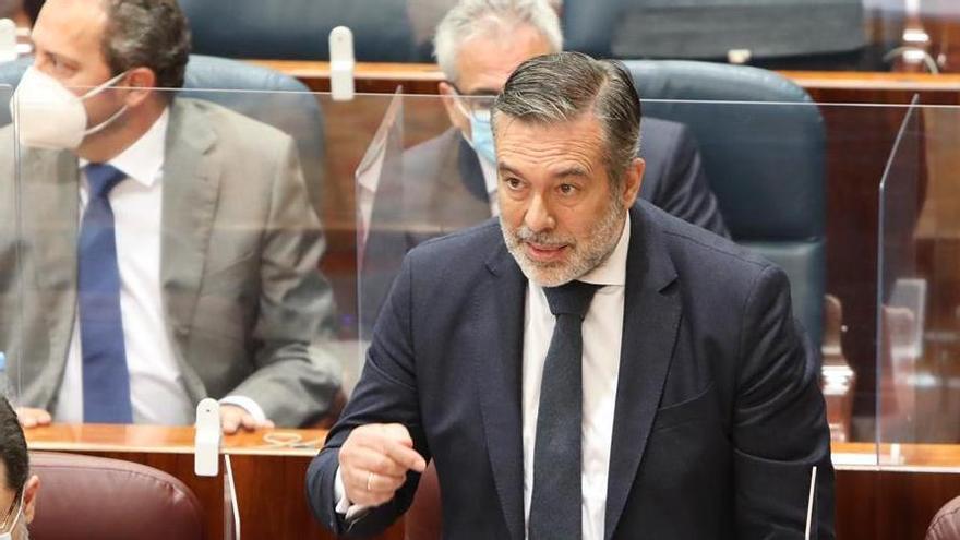 El consejero de Justicia, Enrique López.