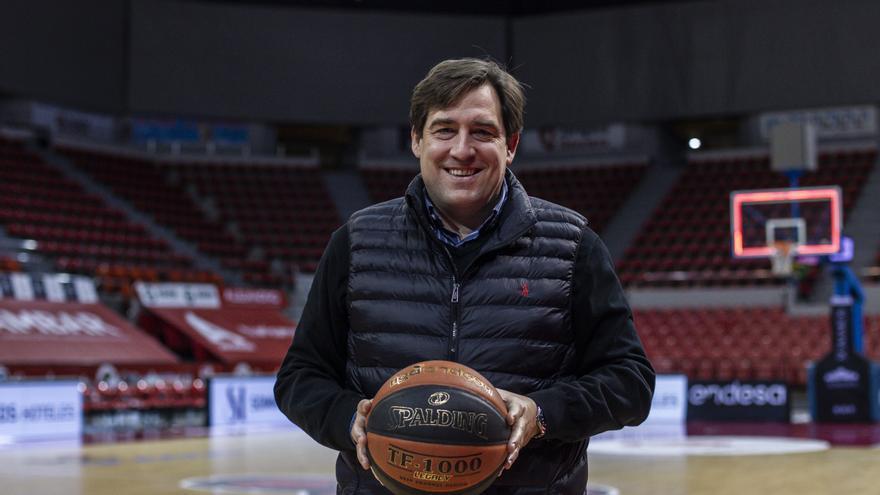«Basket Zaragoza no se plantea jugar otro año sin público, es inviable»