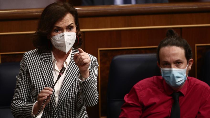 Pablo Iglesias debatirá semanalmente con Carmen Calvo y García Margallo