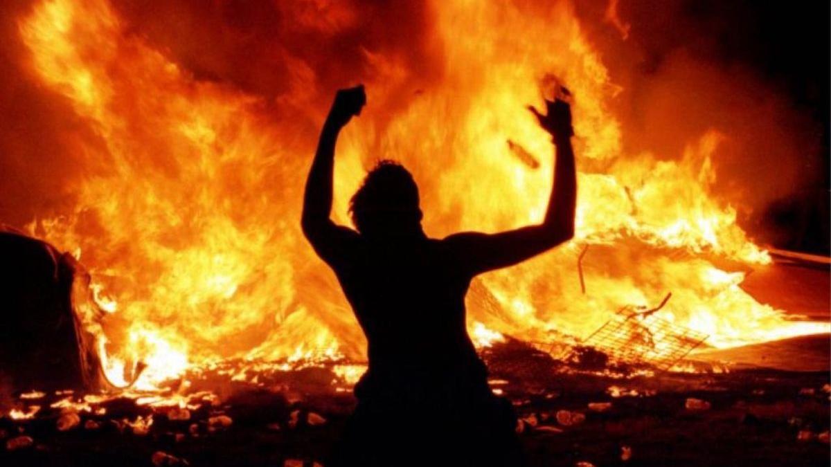 Una imagen del documental 'Woodstock 99: Paz, amor y furia'.
